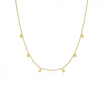 COLLAR CHAPITAS ORO